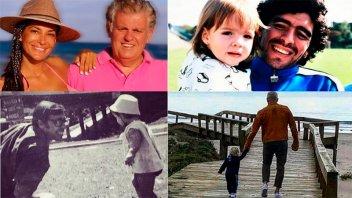 Los saludos de los famosos en un atípico Día del Padre