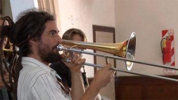 Orquesta de Música de Entre Ríos sigue trabajando con los chicos desde su casa