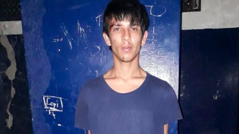 Barrios fue detenido luego de su intento de fuga.-