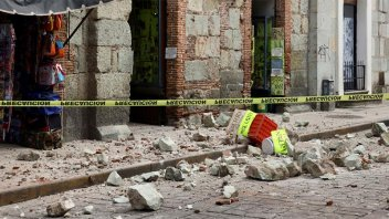 Un sismo de magnitud 7,5 sacudió a México y hay dos muertos