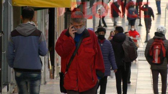 Habrá control a peatones: Labrarán actas a quienes no usen barbijos en Paraná