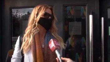Video: Nicole Neumann daba una entrevista y le estornudaron cerca