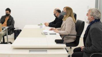 Romero dialogó con legisladores de Cambiemos sobre la situación del coronavirus