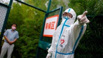 China puso en cuarentena a 500 mil personas por otro rebrote de covid-19