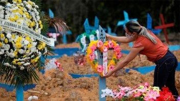 Brasil registró 1.109 nuevas muertes y 38.693 contagios por coronavirus
