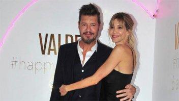 Tinelli superó la crisis con Guillermina Valdés: