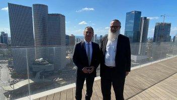 El embajador Urribarri destacó la cultura de negocios de Israel
