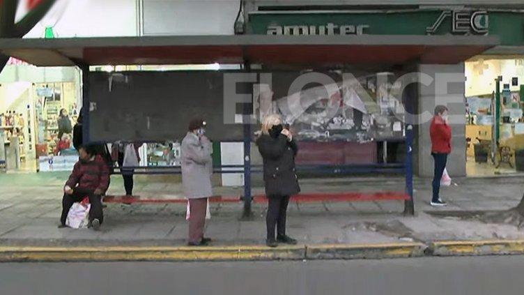 Los colectivos dejaron de circular en Paraná por nueva retención de servicios