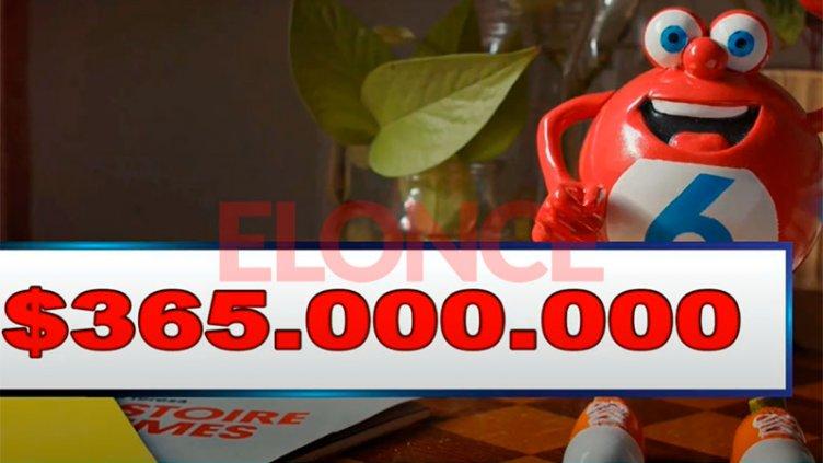 Quini 6: Un apostador ganó el Siempre Sale y habrá $365 millones el domingo