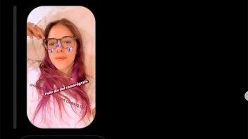 Nati Jota publicó el terrible audio que recibió con insultos y descalificaciones