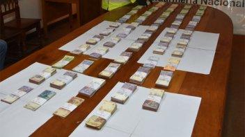 Viajaban a localidad entrerriana con más de un millón de pesos en la camioneta