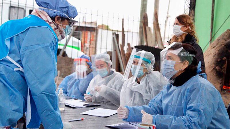 Confirman 34 fallecidos y 2744 nuevos casos de Covid 19 en el país