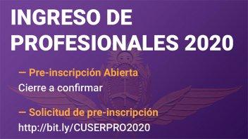 Inscriben a profesionales para ingresar a la Fuerza Aérea Argentina: Detalles