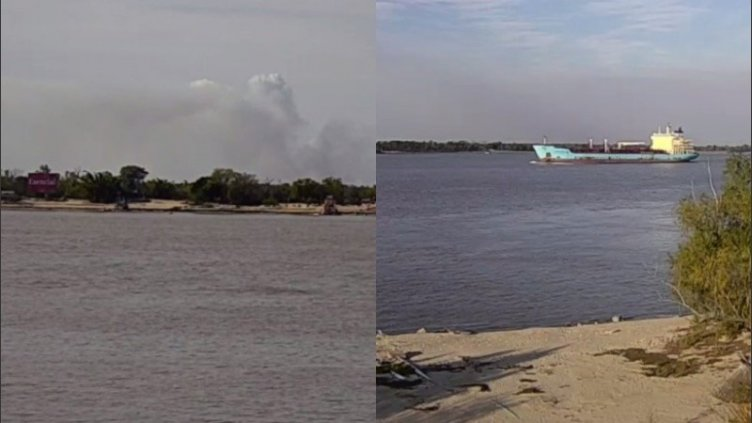 Volvieron las quemas en las islas y enviaron aviones hidrantes
