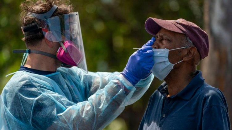 La pandemia azota a EEUU: Más muertos y otro récord nacional de contagios