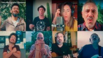 Reconocidos músicos grabaron junto a Los Tekis una nueva versión de