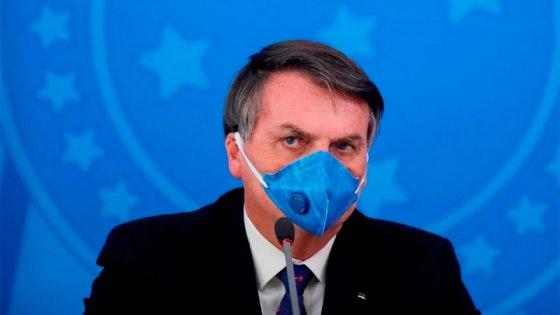 Bolsonaro tiene coronavirus: El presidente de Brasil dice que está