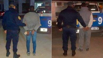 Detuvieron a dos sujetos que golpearon y amenazaron a sus parejas en Paraná