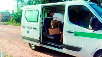 Hijo de intendente usaba una ambulancia para hacer delivery de fernet