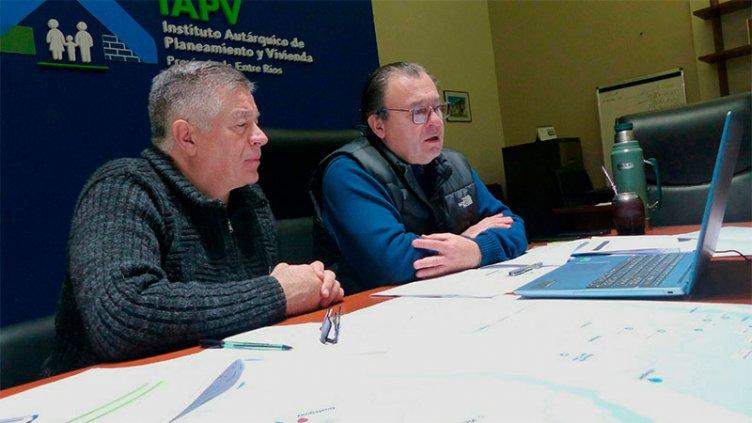 IAPV trabaja para construir nuevas viviendas en el Departamento Federación