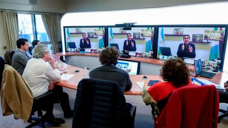 Alberto Fernández anunció la prórroga del IFE por un mes en todo el país