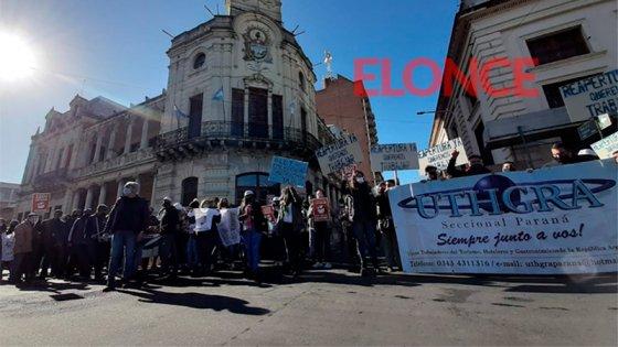 Hoteleros y gastronómicos reclamaron en Paraná que los