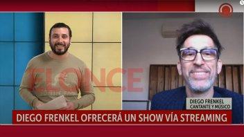 Diego Frenkel dará un show en vivo para celebrar 35 años de carrera
