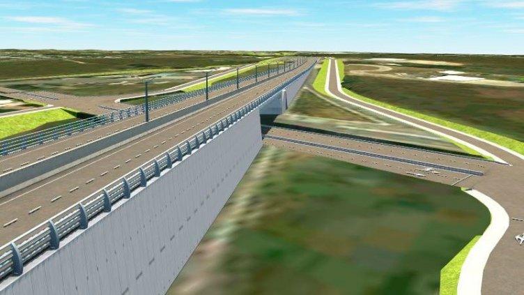 Imágenes: Cómo quedará el futuro acceso este a Paraná  desde la ruta 12