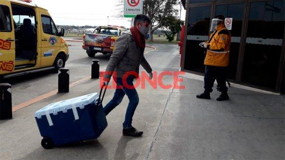 Despliegue de Bomberos Voluntarios y Policía por operativo de ablación