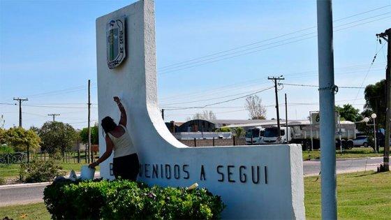 Confirmaron primer caso de covid-19 en Seguí: Restringieron actividades