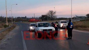 Continúan los controles vehiculares en accesos a Paraná y ciudades aledañas