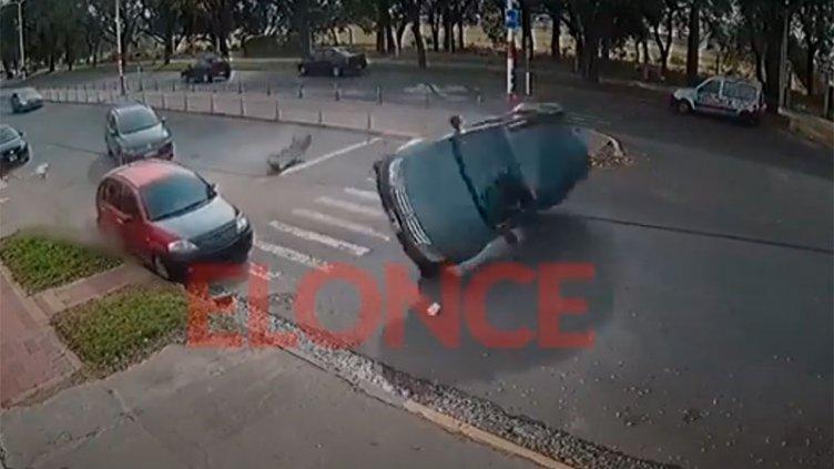 Video: Así ocurrió el tremendo accidente de calle Maciá