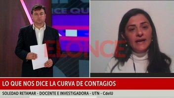 Cómo se está dando la curva de casos de coronavirus en Entre Ríos