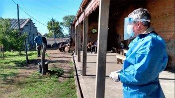 Covid-19: Presentan síntomas tres personas aisladas en estancia de San Gustavo