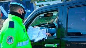 Policía realiza nuevos controles rotativos