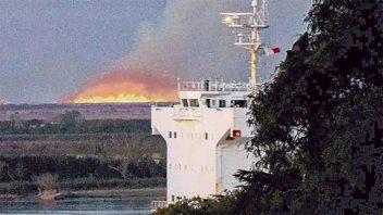 Preocupa la aparición de nuevos incendios en las islas del delta entrerriano