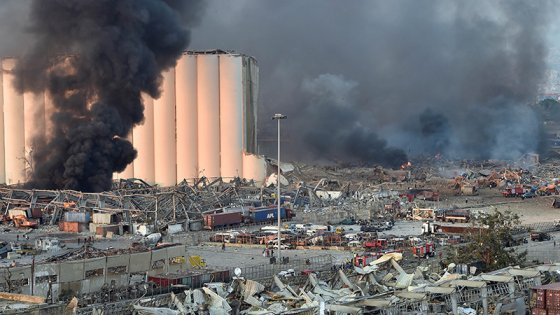 Trágica explosión en Beirut: Los muertos ascienden a 50 y hay miles de heridos