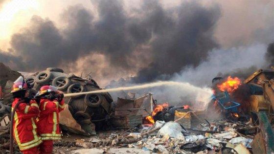 Impresionantes explosiones en Beirut: Más de 70 muertos y miles de heridos