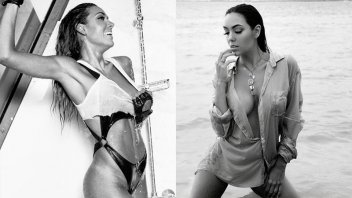 Trikini y remera mojada: La postal súper sensual de Floppy Tesouro