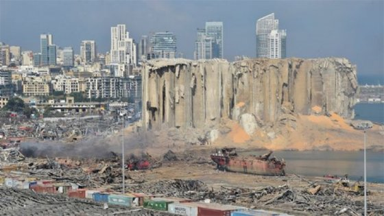 Trágica explosión en Beirut: Decretan el estado de urgencia