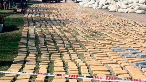 Condenaron a camionero entrerriano que llevaba millonario cargamento de droga
