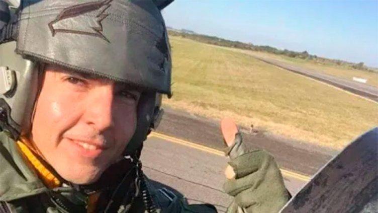 La historia del capitán paranaense que falleció al eyectarse de su aeronave
