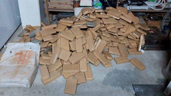 Valuaron en $220 millones al cargamento de droga incautado en Concordia