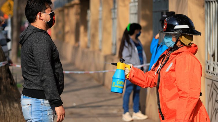 Covid19: Hubo 113 muertes y 6.134 contagiados en las últimas 24 horas en el país