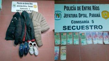 Vecinos atraparon a un hombre que robó en un comercio: Su mujer logró escapar