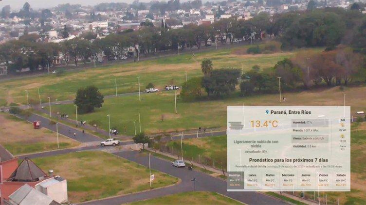 Se prevé una máxima de 22ºC para este domingo en Paraná: Cuándo vuelve el frío