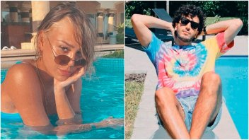 Danna Paola y Sebastián Yatra, juntos en Miami: el mensaje de Tini Stoessel
