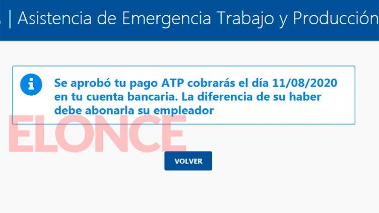 Pagan el ATP en agosto a empleados privados: Cómo consultar fecha de cobro