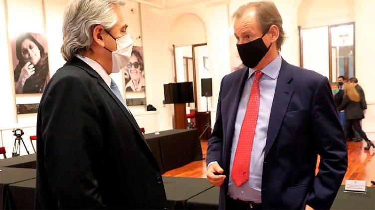 Fernández y Bordet avanzan en obras claves para el ambiente del río Uruguay