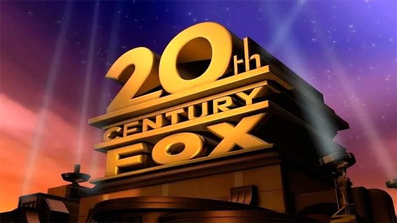 El histórico logo de 20th Century Fox.